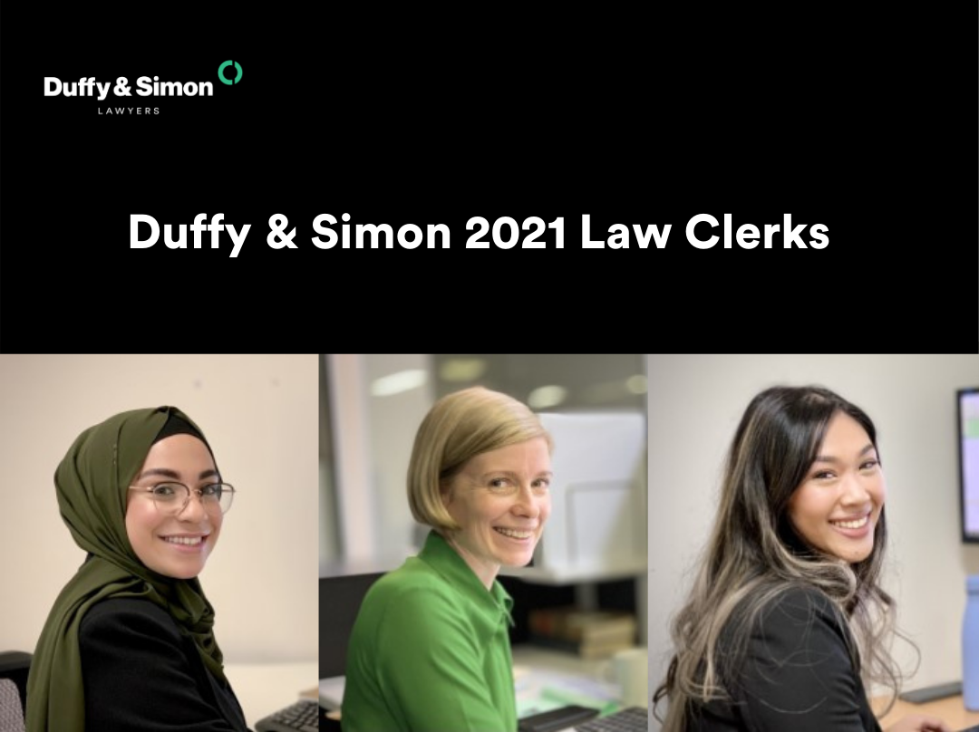 Duffy and Simon 2021 Law Clerks